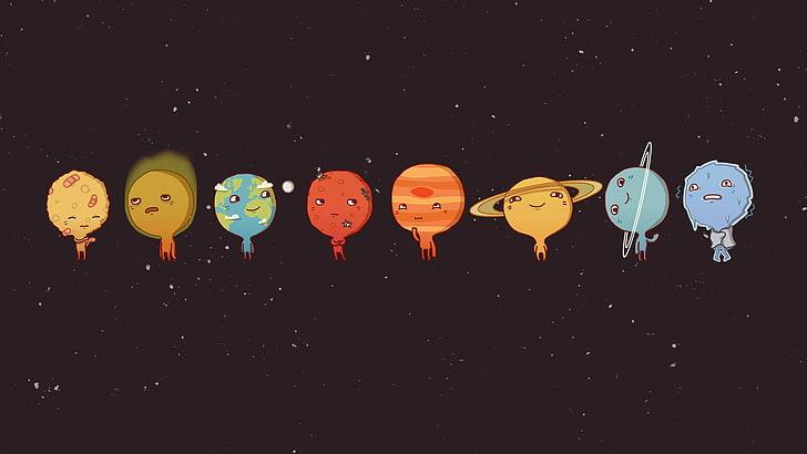 space sun venus mercury wallpaper preview